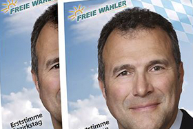 Wahlplakate Alexander Hold